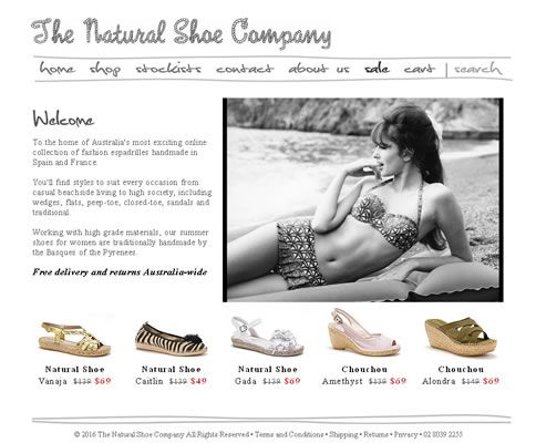 Our work with Natural Shoe