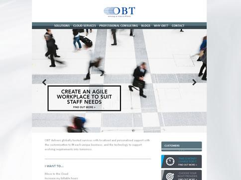 Our work with OBT