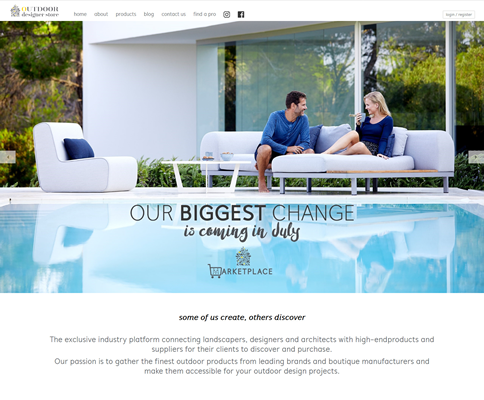Our work with the Outdoor Designer Store