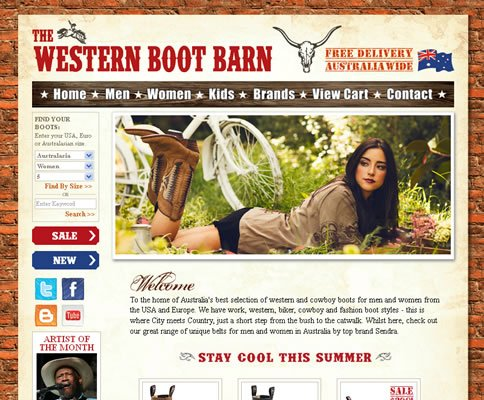 Our work with The Western Boot Barn